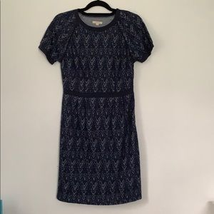 TULLE navy lace dress